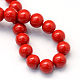 Baking Painted Glass Pearl Bead Strands(X-HY-Q003-5mm-55)-4