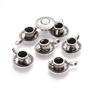 Thai Sterling Silver Plated Tableware Alloy Pendants