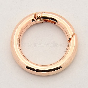 Rose Gold Ring Alloy Clasps