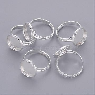 Silver Brass Ring Components
