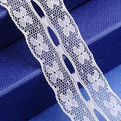 """Fil de nylon de garniture de dentelle pour la fabrication de bijoux, blanc, 1"""" (25 mm)(X-OCOR-I001-014)"""