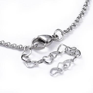 Tortoise Brass Synthetic Turquoise Lariat Necklaces(NJEW-JN02456-04)-4