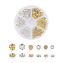 5mm Rondelle Brass+Rhinestone Spacer Beads(RB-JP0002-13A)