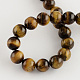 Natural Tiger Eye Round Bead Strands(G-R200-8mm)-2