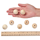 Unfinished Wood Beads(X-WOOD-S651-30mm-LF)-3