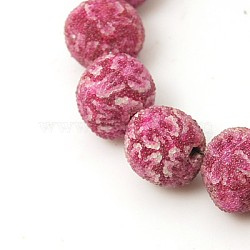 Indonesia Beads, Round, OldRose, 14mm, Hole: 1mm(X-IPDL-D001-14mm-02)