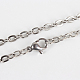 304 Stainless Steel Cable Chains for Necklace Making(X-STAS-P045-03P)-1