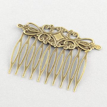 Iron+Brass Hair Comb