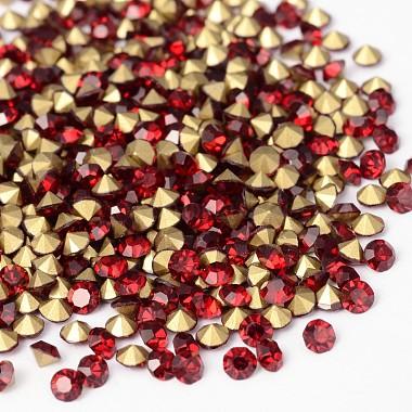 4mm Diamond Glass Rhinestone Cabochons