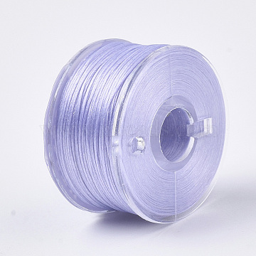 0.1mm Lilac Polyester Thread & Cord