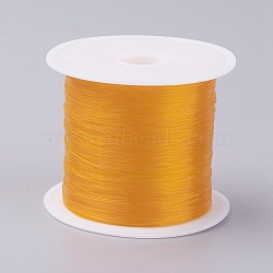 Fishing Thread Nylon Wire, Gold, 0.25mm, about 92.95 yards(85m)/roll(X-NWIR-G015-0.25mm-02)