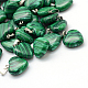 Heart Dyed Synthetic Malachite Pendants(X-G-Q371-02)-1