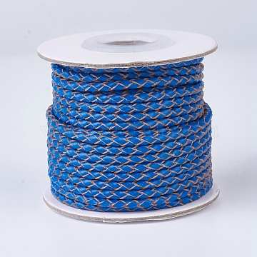 3mm DodgerBlue Leather Thread & Cord