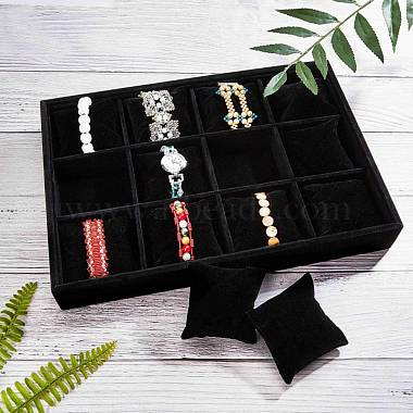 velours bois bracelet / bracelet / montre affiche(BDIS-WH0003-01)-2