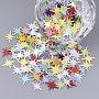 Mixed Color PVC Beads(X-PVC-T005-077)