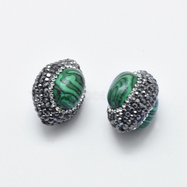 Synthetic Malachite Beads(RB-L031-03H)-2