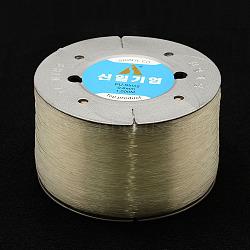 fil de cristal élastique coréen, effacer, 0.7 mm, 1000 m / rouleau(EC-P003-0.7mm-01)