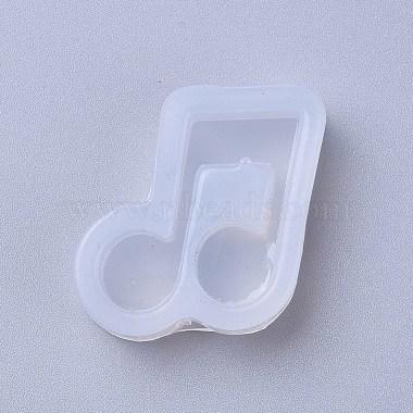 White Musical Note Silicone