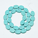 Synthetic Turquoise Beads Strands(G-T122-04W)-2