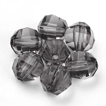 16mm LightGrey Round Acrylic Beads