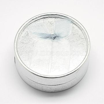 Silver Round Paper Bracelet Box