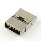 Smooth Surface 201 Stainless Steel Watch Band Clasps(X-STAS-R063-81)-3