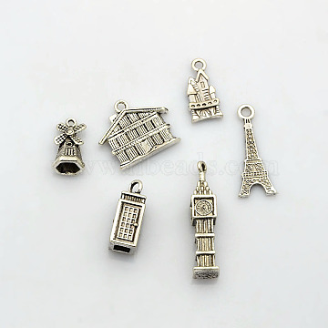 Jewellery Making Charms Windmill Bronze Tone Charms