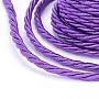 3mm DarkOrchid Polyester Thread & Cord(OCOR-L041-3mm-01)