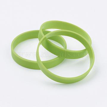 YellowGreen Silicone Bracelets