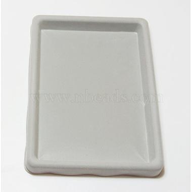Gray Plastic Bead Design Boards