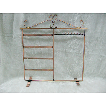 Chocolate Iron Earring Stands