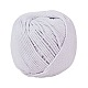 Cotton String Threads for Jewelry Making(OCOR-L039-A11-3mm)-1