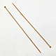 Bamboo Single Pointed Knitting Needles(TOOL-R054-10mm)-1