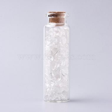 Bottle Quartz Crystal Decoration