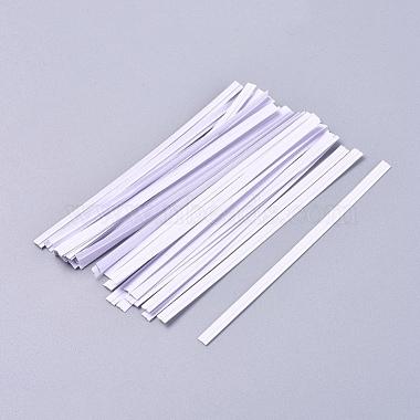 4mm White Iron Wire Twist Ties