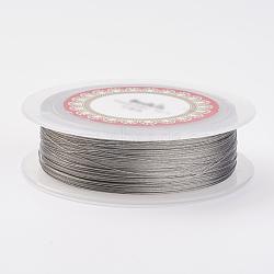 стальной проволоки, серебристый цвет, 0.3 мм; 100 м / рулон(TWIR-E001-0.3mm)