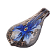 Handmade Inner Flower Lampwork Big Pendants(X-LAMP-C1160-3)-2