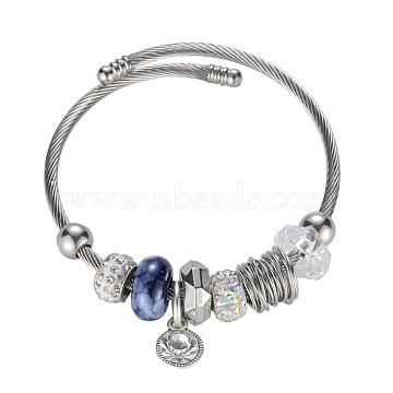 MarineBlue Glass Bracelets