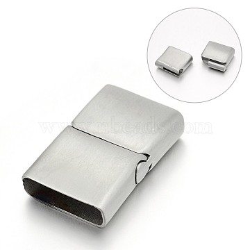 Stainless Steel Color Rectangle Stainless Steel Clasps