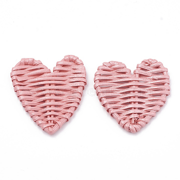 51mm Flamingo Heart Others Beads