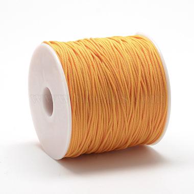 0.8mm Orange Polyester Thread & Cord