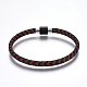 Leather Braided Cord Bracelets(BJEW-E352-29B)-1