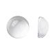 Transparent Half Round Glass Cabochons(X-GGLA-R027-8mm)-1