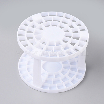 Plastic Brush Pen Holder Stand, for Painting & Drawing Supplies, White, 145.5x99.5mm(X-DIY-WH0157-79)