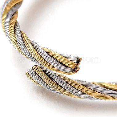 регулируемый 304 расширяемый браслет из нержавеющей стали(BJEW-M286-02)-3