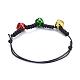 Adjustable Korean Waxed Polyester Cord Braided Bracelets(BJEW-JB04423)-4