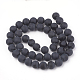 Natural Obsidian Beads Strands(X-G-T106-001A)-3