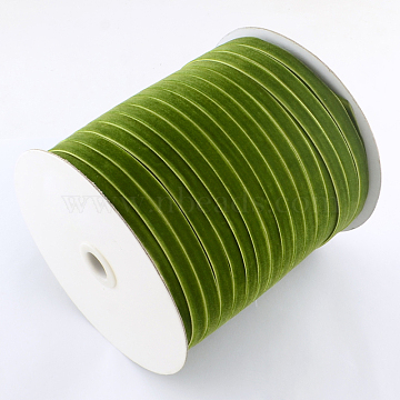 6.5mm OliveDrab Velvet Thread & Cord