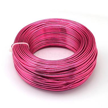 1mm MediumVioletRed Aluminum Wire