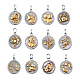316 Surgical Stainless Steel Pendants(STAS-S045-40)-2